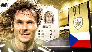FIFA 19 NEDVED REVIEW   91 PRIME NEDVED PLAYER REVIEW   FIFA 19 ULTIMATE TEAM