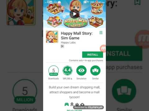 How to download happy mall story mod apk