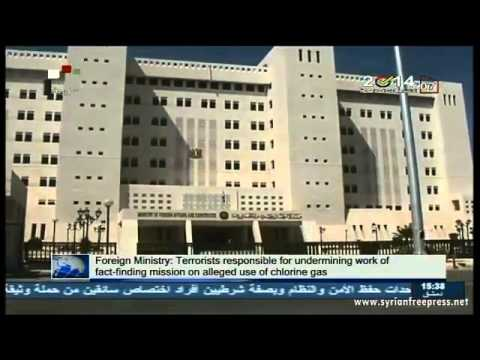 Syria News 27/5/2014, UN chemical weapons inspectors 'attacked' by terrorists