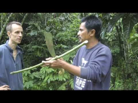 Ray Mears style parang - machete review