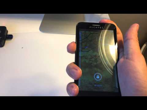 Alcatel One Touch Fierce / Snap Codes Reading and Direct Unlock Using FuriousGold !