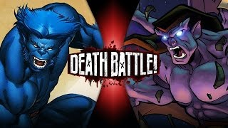 Beast VS Goliath (Marvel VS Gargoyles) | DEATH BATTLE!