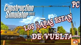 Construction Simulator // PC // DE CHAPUÑAPAS