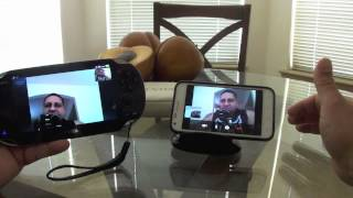 PS Vita Skype App hands on