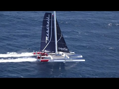 World on Water July 08.16 Sailing TV News. Soldini's MOD70, 52's in Italy, Round the Island Race