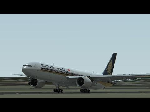 Singapore Airlines on Infinite Flight Simulator