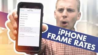 How to change video FRAME RATES on an iPhone in 2019!
