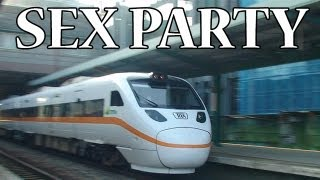 Taiwan Railway turned into a sex party train