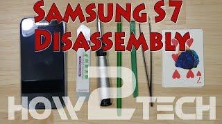 Samsung Galaxy S7 Nasıl sökülür? Ekran değişimi