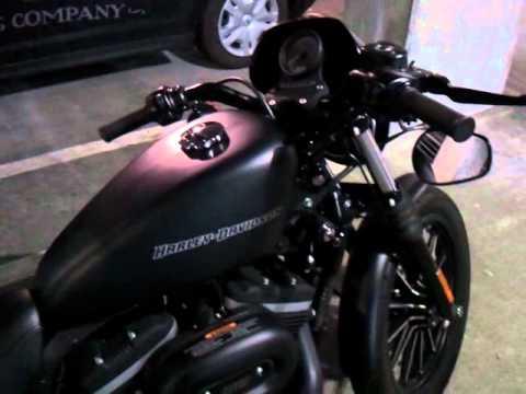 Harley Davidson Iron 883 Sound Iron 883 Harley-davidson Black