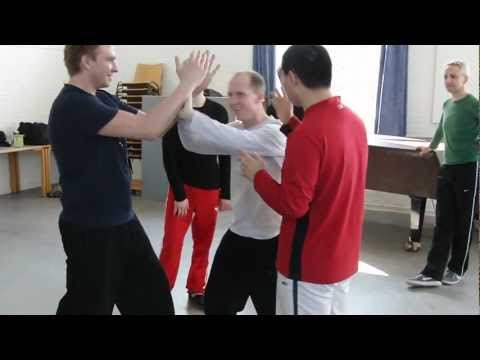 Qian Shiying - Demonstrating Xin Yi(心意六合拳) Applications (1 & 2) Image 1