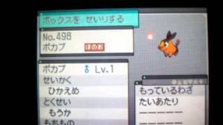 Shiny Tepig Pokemon White Masuda Method 588th Egg out of 1050