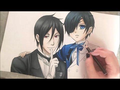 Ciel & Sebastian Speed Drawing (Black Butler)