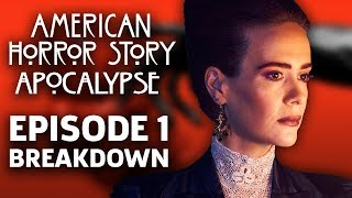 "AHS: Apocalypse Season 8 Episode 1 ""The End"" Breakdown!"