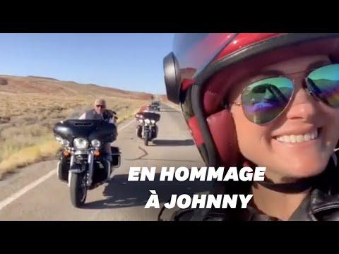 Laeticia Hallyday en road trip dans les pas de Johnny