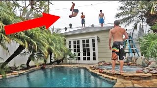 CRAZIEST BACKYARD EVER!