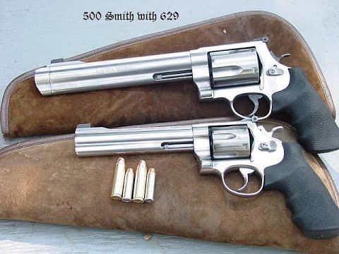 S&W Magnum-500 - мощнейший револьвер в мире