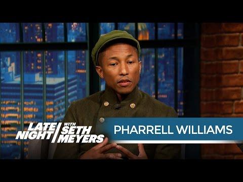 Pharrell Williams' Michael Jackson Story - Late Night with Seth Meyers