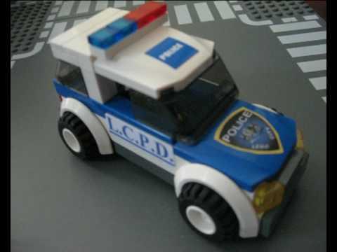 Lego City Police SUV