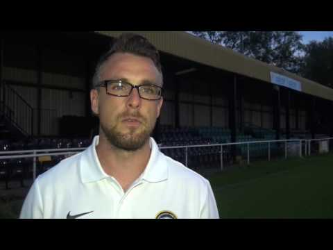 Dominic Roma post Worksop PSF (21/7/16)