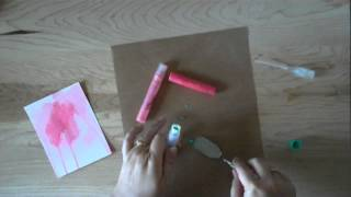 creating your own spray inks with Gelatos