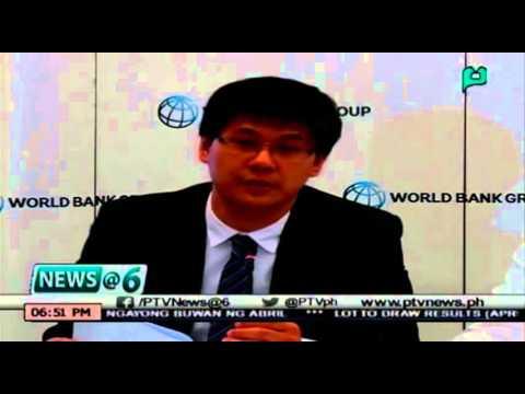 [News@6] World Bank, nagbigay ng rekomendasyon sa Gobyerno kaugnay sa pangongolekta ng buwis