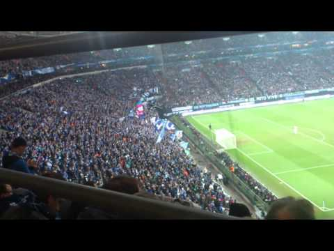 26.02.14 FC SCHALKE 04 1:6 Real Madrid ( Mythos vom Schalker Markt ) Nordkurve TOP !