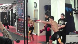 Cung Le Open Workout