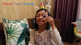 Giant cake pop and series 4 lil sister toys fun time reviews Indonesia,