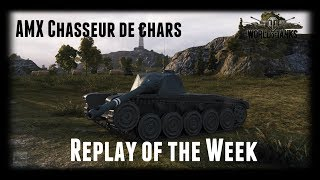 Let's Play World of Tanks | AMX CDC | Replay of the Week [ Gameplay - German - Deutsch ]