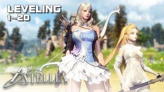 Astellia - Archer Gameplay lvl 1~20 - 2nd CBT - PC - F2P - KR