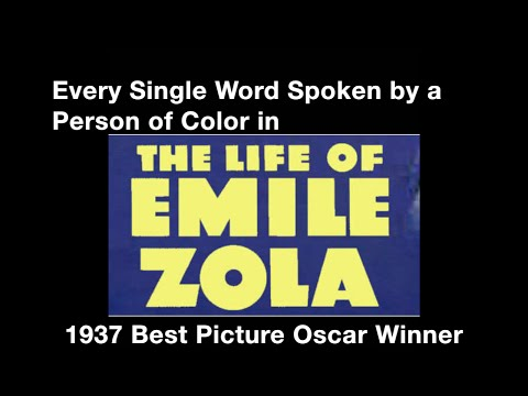 """Every Single Word Spoken by a Person of Color in """"The Life of Emile Zola"""""""