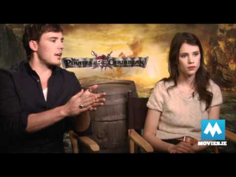 Sam Claflin talks Pirates Of The Caribbean On Stranger Tides with Astrid Berges-Frisbey