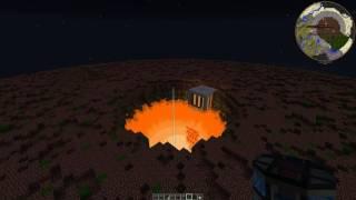 MINECRAFT FTB Infinity Draconic Reactor Explosion im Mega Baum