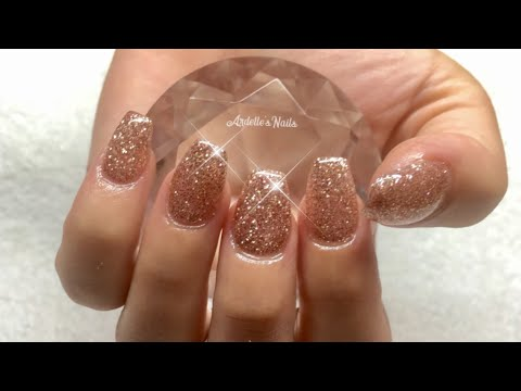 How to: New Set of Gel Nails Done With Tips