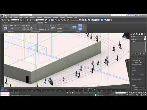 3ds Max 2014 New Features: Populate