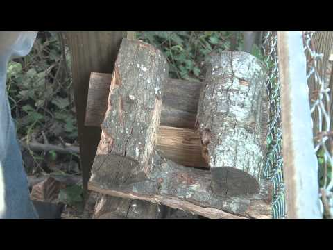 Split, Stack, Cover, Store: Four Simple Steps to Drying Firewood
