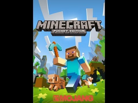 Minecraft Pocket Edition Review - v0.3.2 We Now Have Furnaces