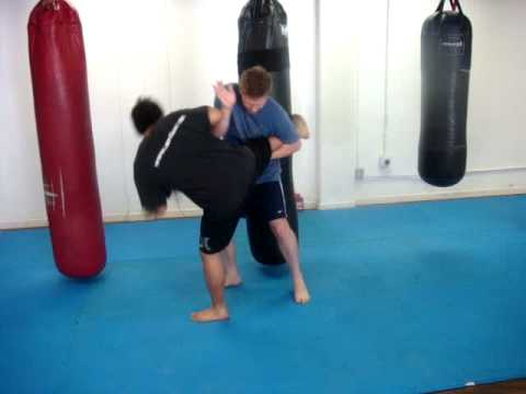 Donnie B. - Muay Thai Round Kick Defense Techniques Image 1