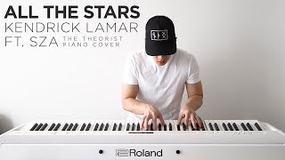 Download Lagu Kendrick Lamar ft. SZA - All The Stars | The Theorist Piano Cover Gratis STAFABAND