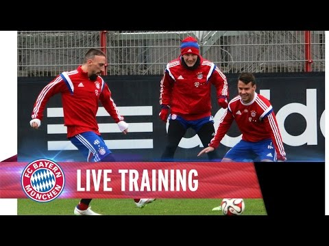FC Bayern ReLive Training