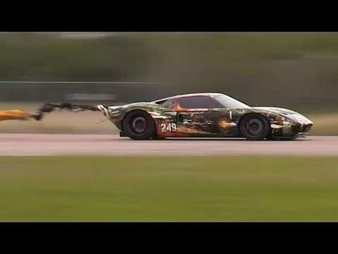 Record 263.3MPH Ford GT - Texas Mile