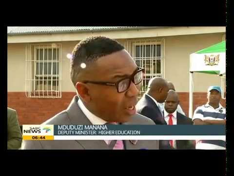 Deputy Minister Mduduzi Manana on careers in Agriculture