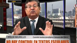 No Hay Control En Textos Escolares
