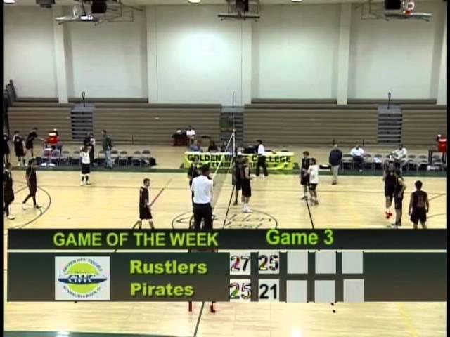 03-9-12 Golden West College Men's Volleyball vs. Orange Coast College