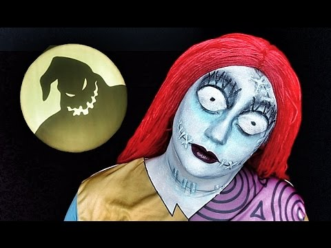 Sally Nightmare Before Christmas Makeup Tutorial