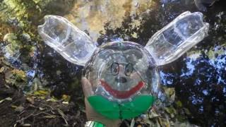 MICKEY PECHE DES VAIRONS - BOUTEILLE CARAFE VAIRONS- MINOW TRAP