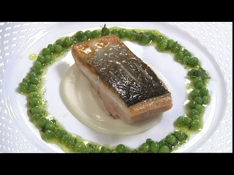 Sea Trout on cauliflower cream Part 2 - Gary Rhodes Cookery Year - BBC Food