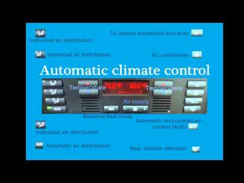 Automatic Climate Control 97-03 BMW 5 SERIES E39 528I 525I 540I M5