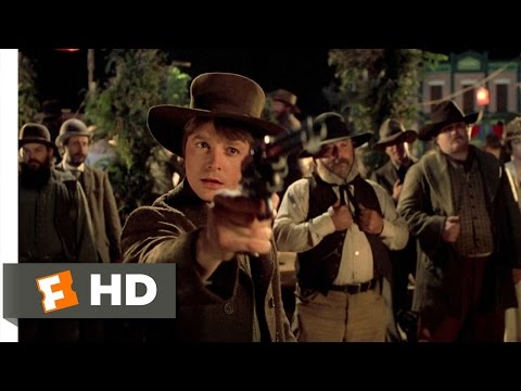 Back to the Future Part 3 (4/10) Movie CLIP - Marty the Marksman (1990) HD